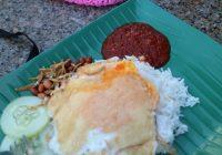 sarapan nasi lemak khas malaysia