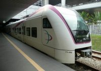 KLIA Express Kereta Bandara di Kuala Lumpur Malaysia 1